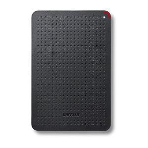 BUFFALO 耐振動・耐衝撃 日本製 USB3.1(Gen1) 対応 小型ポータブルSSD 120GB ブラック SSD-PL120U3- lucia0322