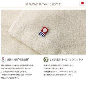 今治タオル imabari towel 出産祝い 日本製 オーガニックコットン ベビーバスローブ バスポンチョ ギフトセット|lucia0322