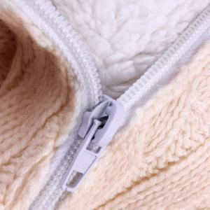 oenbopo ベビーおくるみ ニットとウール製 寒さ対応 ベビーカーに ベビー寝袋 肌触りいい 出産祝い 記念撮影 ギフトにも大人気 (ベ lucia0322