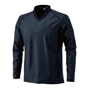 TS DESIGN ストレッチウインドブレーカーシャツ (秋冬用) 846325 95 ブラック L|lucia0322