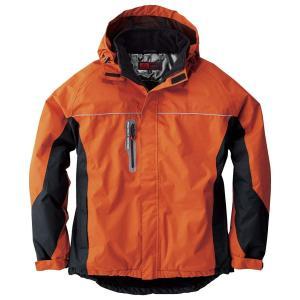 sowa(ソーワ) 防水防寒ブルゾン 耐水圧7000mm 防水防寒ジャンパーsw-44403-b オレンジ 4L|lucia0322
