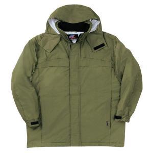SOWA 防水防寒コート アーミー 4Lサイズ 2806|lucia0322