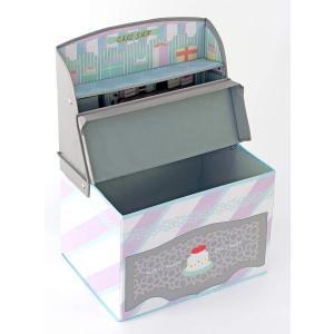 Kishima キシマ ごっこ遊び キッズ収納ボックス ケーキショップ KNB-88049 0ヶ月~6歳 出産祝い|lucia0322