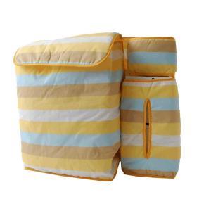 渡嘉毛織 日本製簡単装着 おむつケース(横ボーダー)|lucia0322