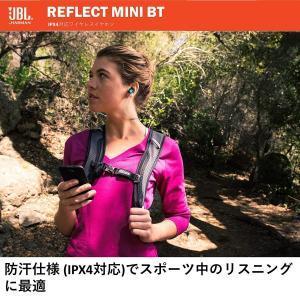 JBL REFLECT MINI BT Bluetoothイヤホン IPX4 防滴防汗仕様/通話可能...