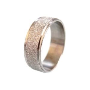 チタン ファッションデザインリング 指輪ペアリングノンアレルギー色あせない素材軽くて強いFK38 (...