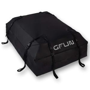 カーゴバッグ GFUN 防水 ルーフキャリアバッグ 屋根バッグ 折り畳み 大容量425L 8本ベルト...