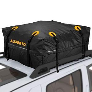 ルーフキャリアバッグ防水 AUPERTO カーゴバッグ 425L大容量 折り畳み 防水 防雨 95x...