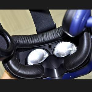 T&B HTC Vive Pro用 ザークッション フェイスクッション 革材 バックヘッド用...