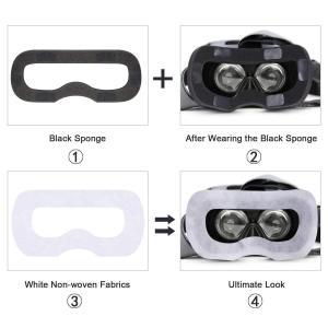 HTC Vive VR 体験用 衛生布 アイマスク VR MASK (アイマスク(100枚)+フェイ...