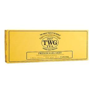 シンガポールの高級シンガポールの高級紅茶TWGシリーズ(FRENCH EARL GREY - フラン...