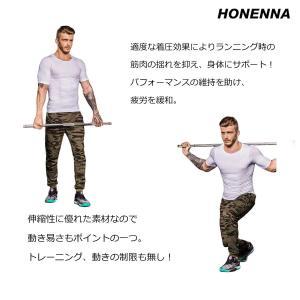 HONENNA 加圧インナー 加圧シャツ 着圧スポーツインナー メンズ インナー 男性用機能性肌着 ...