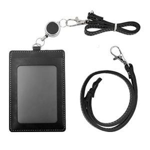 定期入れパスケース 5ポケットネックストラップ 付き安全パーツ 伸縮可能IDカードホルダー 首掛け鞄付け2way通勤通学便利カード収納可能|lucia0322