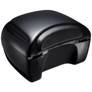 キジマ(Kijima) リアボックス REEMBARK ブラック 17L 最大積載量3kg キーロック(キー2本付) 取付ベース付 908-|lucia0322
