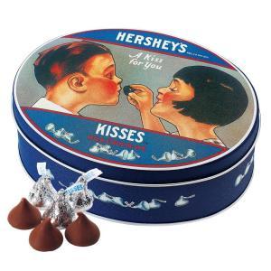 ハーシー キスチョコレート ノスタルジック缶
