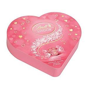 リンツ チョコレート(Lindt)バレンタイン リンドールハートギフトボックス ストロベリーショッピ...