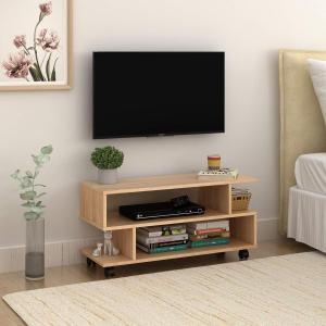 WLIVE テレビ台 テレビラック AVボード 26-37V型対応 コンパクト 省スペース キャスター付き ロータイプ 可動式 キャスター外 lucia0322