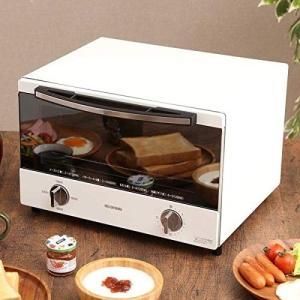 アイリスオーヤマ SOT-012-W スチームオーブントースター 4枚焼き ホワイト|lucia0322