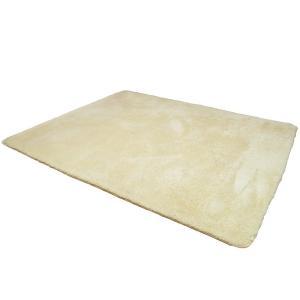 ラグ 洗える 200x250cm 約 3畳 夏用 厚手 低反発 シャギー ラグ 滑り止め 長毛 ラグマット ホットカーペット対応 絨毯 (キ lucia0322