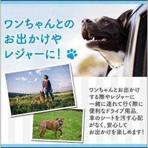 大判・大型 ペット用ドライブシート カーシート シートカバー 取り付け簡単 汚れに強い防水シート 水...