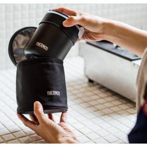 サーモス ごはんが炊ける弁当箱 約0.7合 ブラック JBS-360 BK|lucia0322