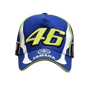 YAMAHA BLUE YZR-M1 Valentino Rossi 46 バレンティーノロッシ Moto GP キャップ 並行輸入品|lucia0322