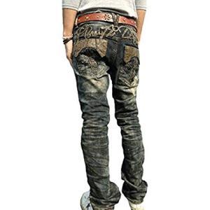 クラウド72(CLOUD72)メンズジーンズ#600ストレート(ストレッチデニム)蛇柄 パイソン 十字架 クロス 刺繍 黒革 高級感 お兄系|lucia0322