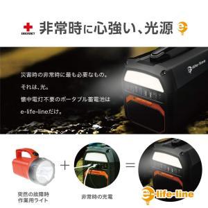 2019年最新 e-life-line ポータブル電源 大容量 蓄電池 462Wh/124800mA...