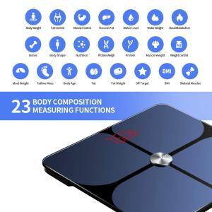 YOUNGDO 体重計 体脂肪計 体組成計 Bluetooth スマホ連動 23種類測定可能 体重/体脂肪率/体水分率/推定骨量/基礎代謝量 lucia0322