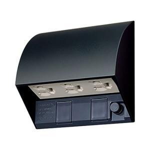 パナソニック(Panasonic) スマート接地防水トリプルコンセント ブラック WK4603B|lucia0322