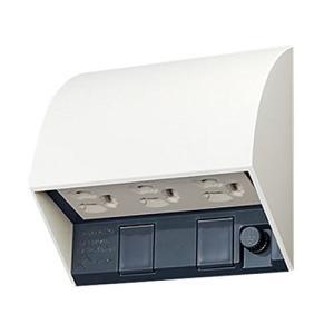 パナソニック(Panasonic) スマート接地防水トリプルコンセント ホワイト WK4603W|lucia0322
