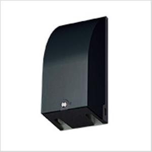 Panasonic スマートカバー付接地防水コンセント 簡易鍵付 ブラック WK4702B|lucia0322