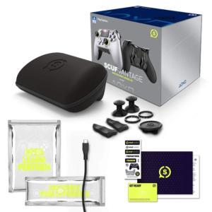 SCUF Vantage CRIMSIX ワイヤレス PS4対応コントローラー 並行輸入品