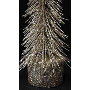 クリスマス 【クリスマスツリー ラメ シルバー Sサイズ】 14601CT|lucia0322