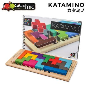 ギガミック カタミノ 木製パズル 脳トレ 知育玩具 200102 ボードゲーム 子供 人気