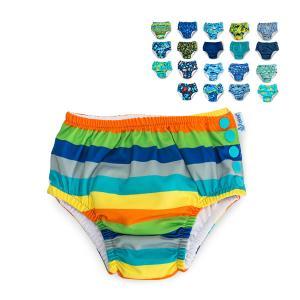 国内検針済 アイプレイ 水着 オムツ機能付 男の子 かわいい プール べビー 赤ちゃん スイムウェア...