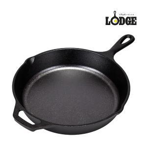 ロッジ Lodge ロジック スキレット 10-1/4インチ (約26cm) バッファロー IH対応...