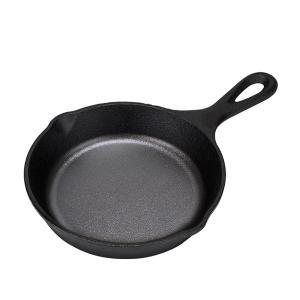 ロッジ Lodge HE スキレット 6-1/2インチ ( 16.5cm ) IH対応 フライパン ...