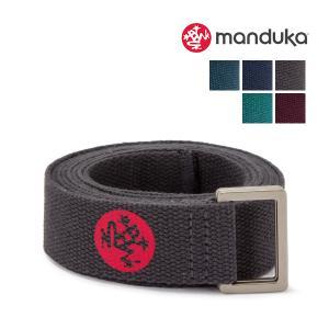 【あすつく】 マンドゥカ Manduka ヨガ ストラップ 183×3.2cm プロップス 補助 U...