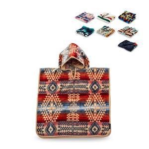 ペンドルトン Pendleton フード付きタオル 子供用 キッズ コットン XB243 Jacqu...