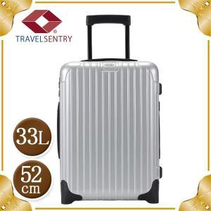 リモワ RIMOWA SALSA サルサ 843.52 84352 Cabin Trolley キャビントローリー スーツケース キャリーバッグ シルバー33L (810.52.42.2)