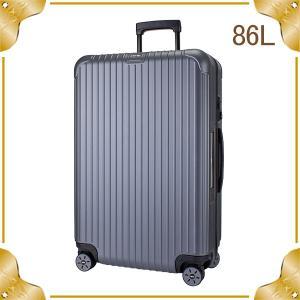 【E-Tag】 電子タグ リモワ RIMOWA SALSA サルサ 838.70 83870 Multiwheel マルチホイール スーツケース キャリーバッグ マットグレー 86L (810.70.35.4)|lucida-gulliver