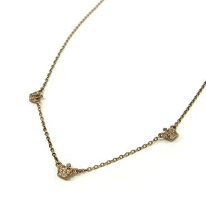 Justin DavisジャスティンデイビスTeeny Crown Necklace クラウンネックレス ピンク【中古】|lucio