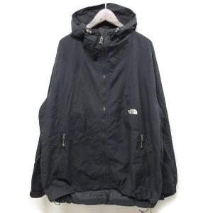THE NORTH FACEノースフェイス COMPACT JACKETジャケット L ブラック NP11410【中古】 lucio