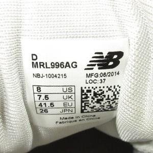new balanceニューバランス MRL996AG 26 グレー【中古】 lucio 05