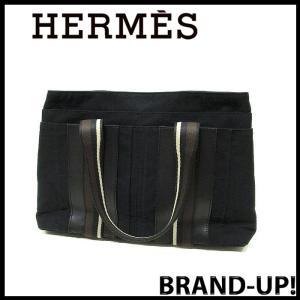 エルメス HERMES トートバッグ メンズ レディース トロカ ホリゾンタル MM ブラック 中古|lucio