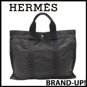 HERMES エルメス バッグ トートバッグ メンズ レディース エールライン MM 100951M グレー 中古|lucio
