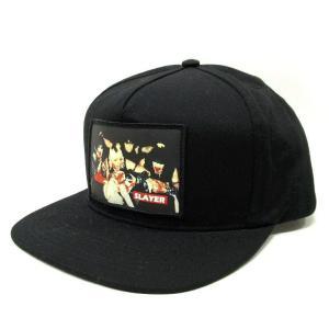 Supreme シュプリーム キャップ 帽子 メンズ Slayer Altar 5-Panel スレイヤー  ブラック 中古|lucio