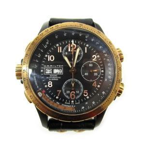 HAMILTON ハミルトン Khaki Aviation X-Wind H776760 自動巻き 腕時計 ブラック lucio