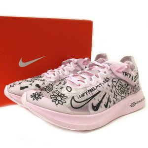 NIKE ナイキ ZOOM FLY SP FAST BREAKING2 ズーム フライ 28cm ピンク AT5242-100  中古(未使用)|lucio
